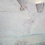 Untermeereswelt-Flachrelief-Lampen