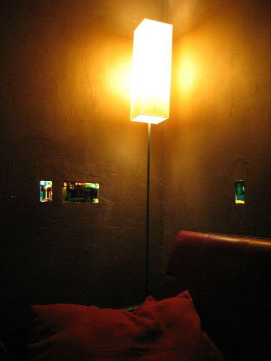 3 Lichtobjekte - Secrets in the wall