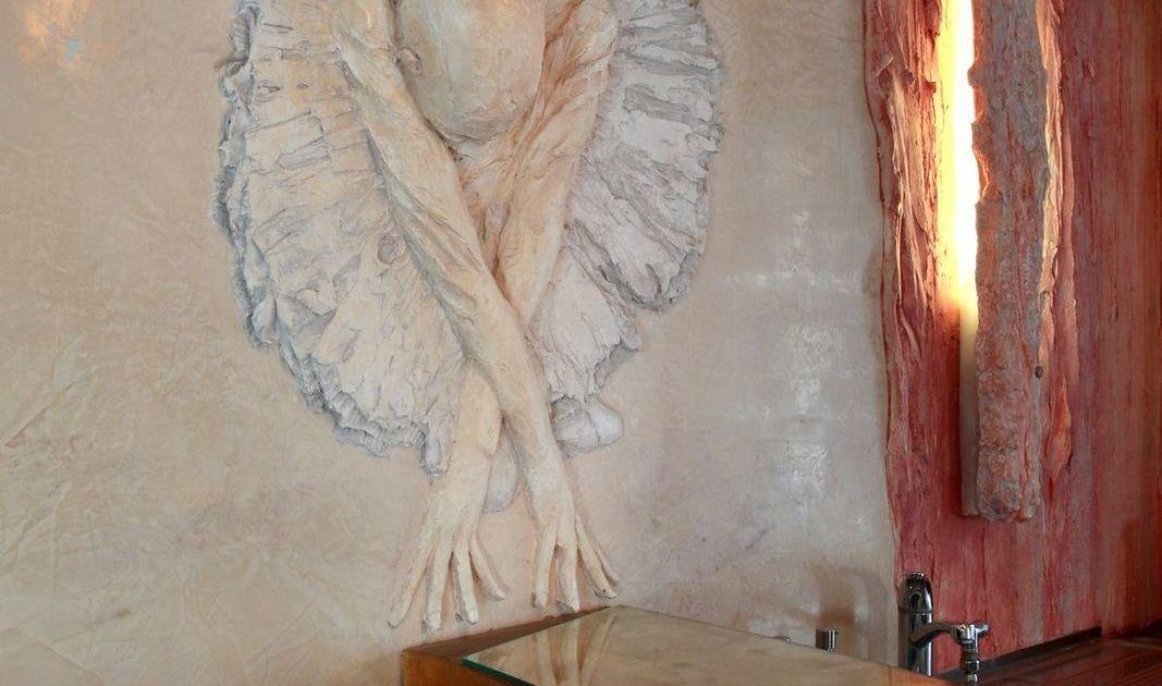Ballerinarelief - Wandrelief als Lampe