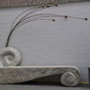 Kunstobjekt - Garten - Sitzbank