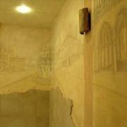 Badezimmerfresk - Wandbild - Licht