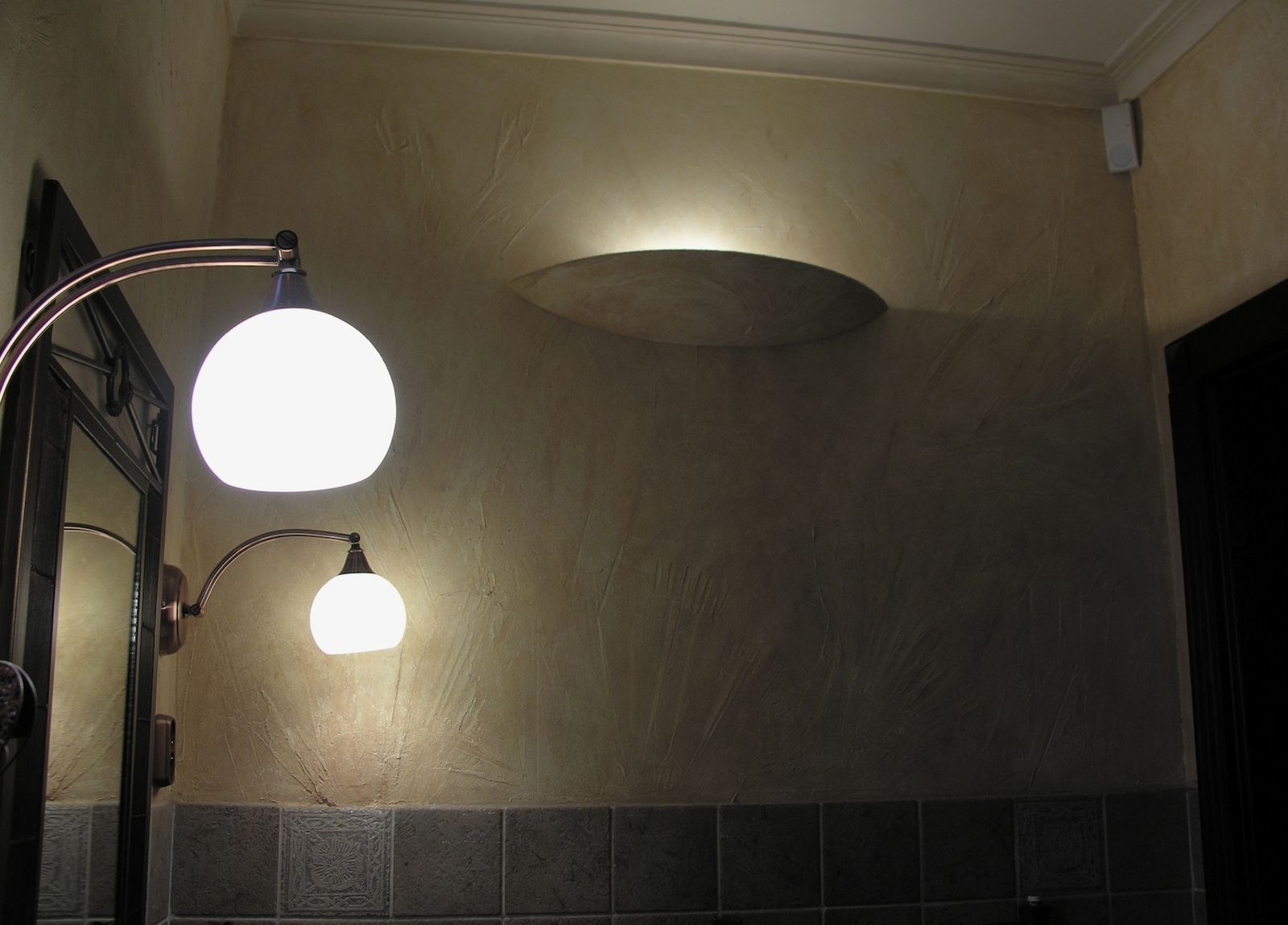 Baddesign - Basrelief - Leuchten