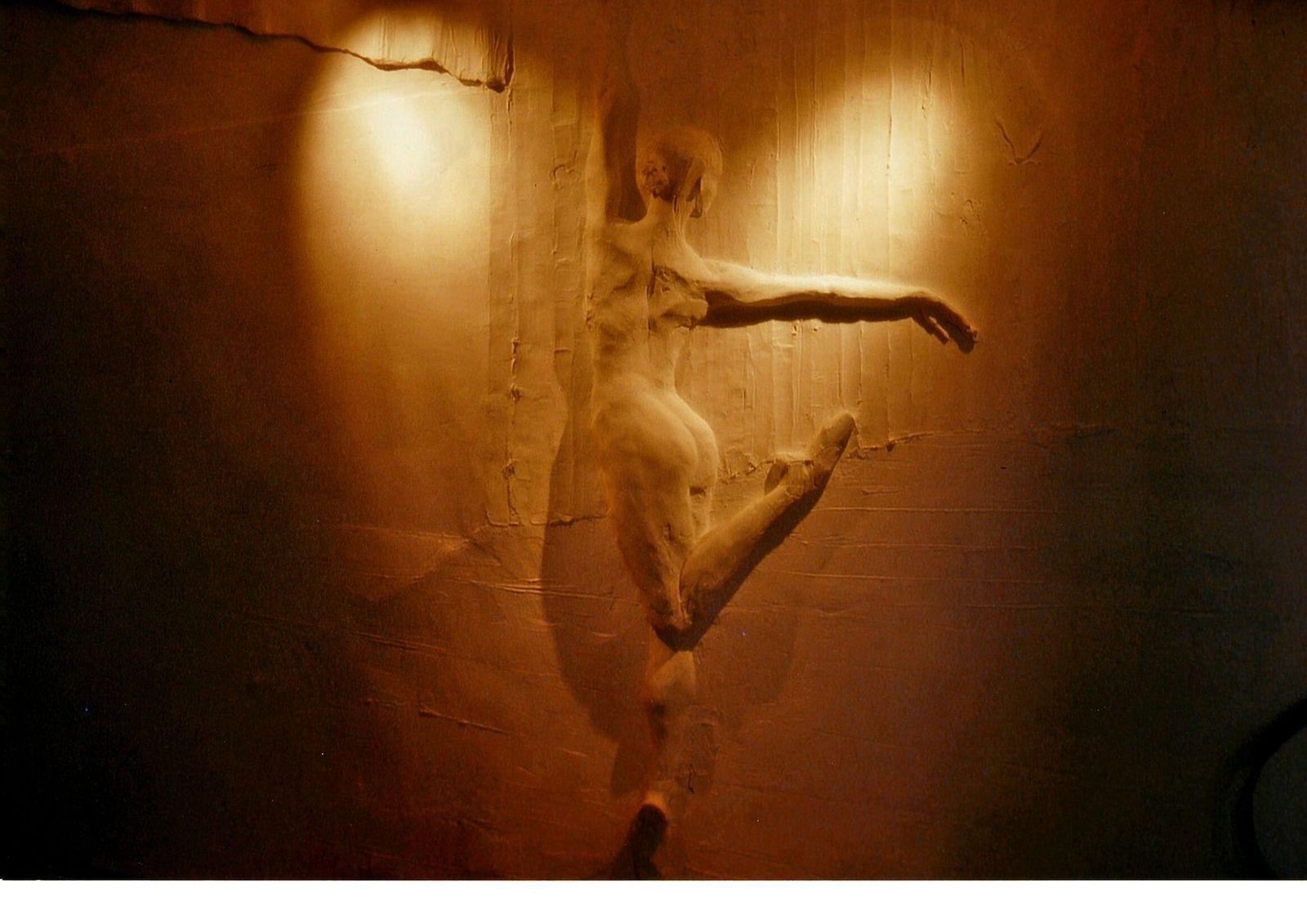 Tanzstudie - Koerperstudie - Wandidee