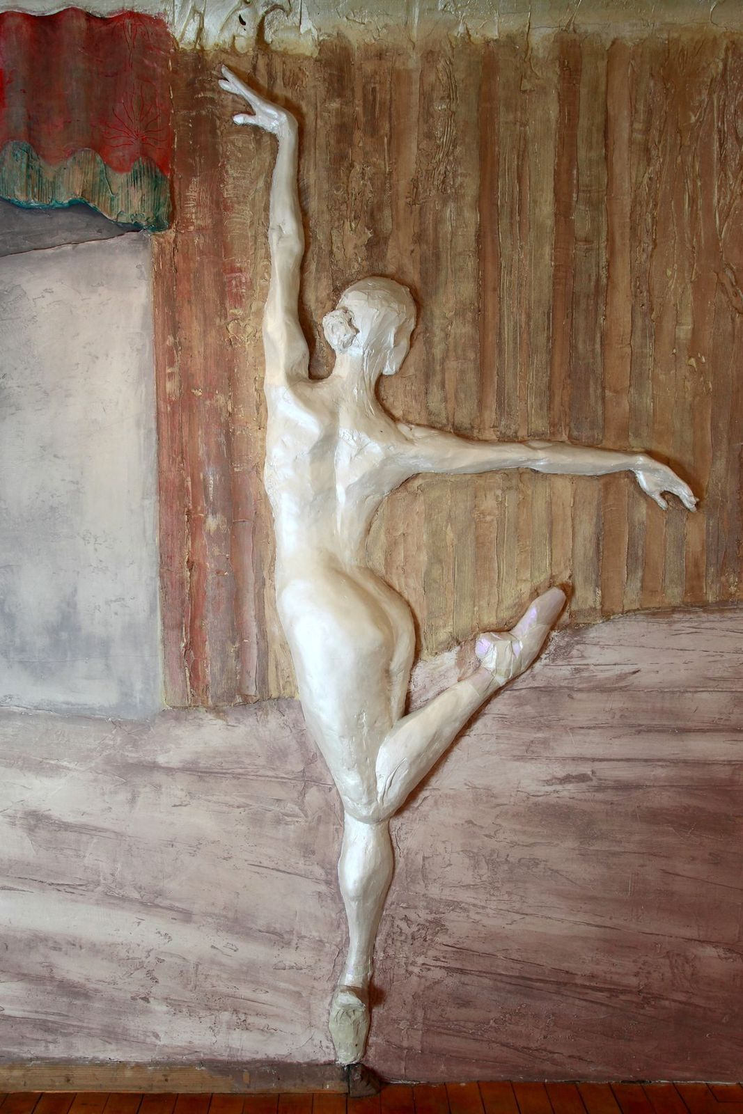 Großrelief - Ballerina - Wandkunst