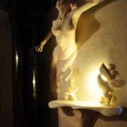 Meeresjungfrau - Toilettentisch - Beleuchtung
