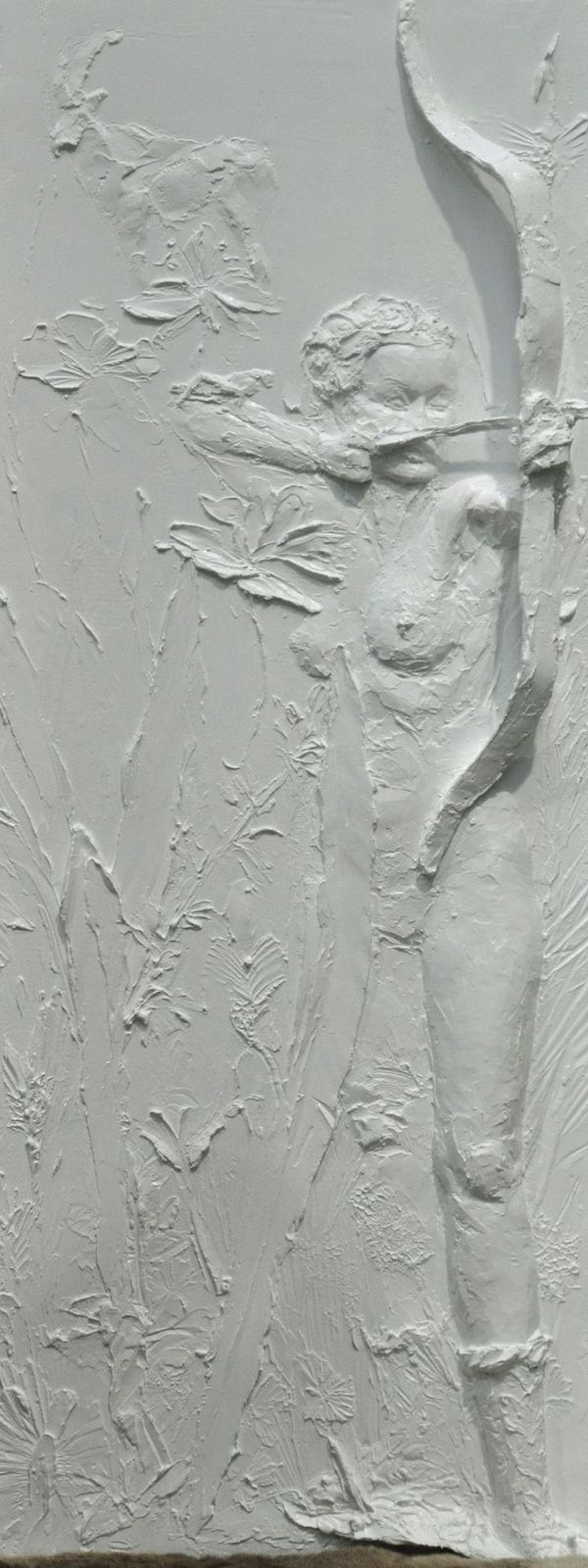 Reliefplatte - Diana - Messen Hannover