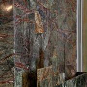 Steingebilde - Kunstwasserfall - Wandelement