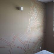 Strassenverlauf - Zeichnung - Schlafzimmer