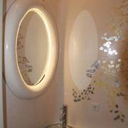 WC-Design - Lichtspiegel - Deckenleuchte