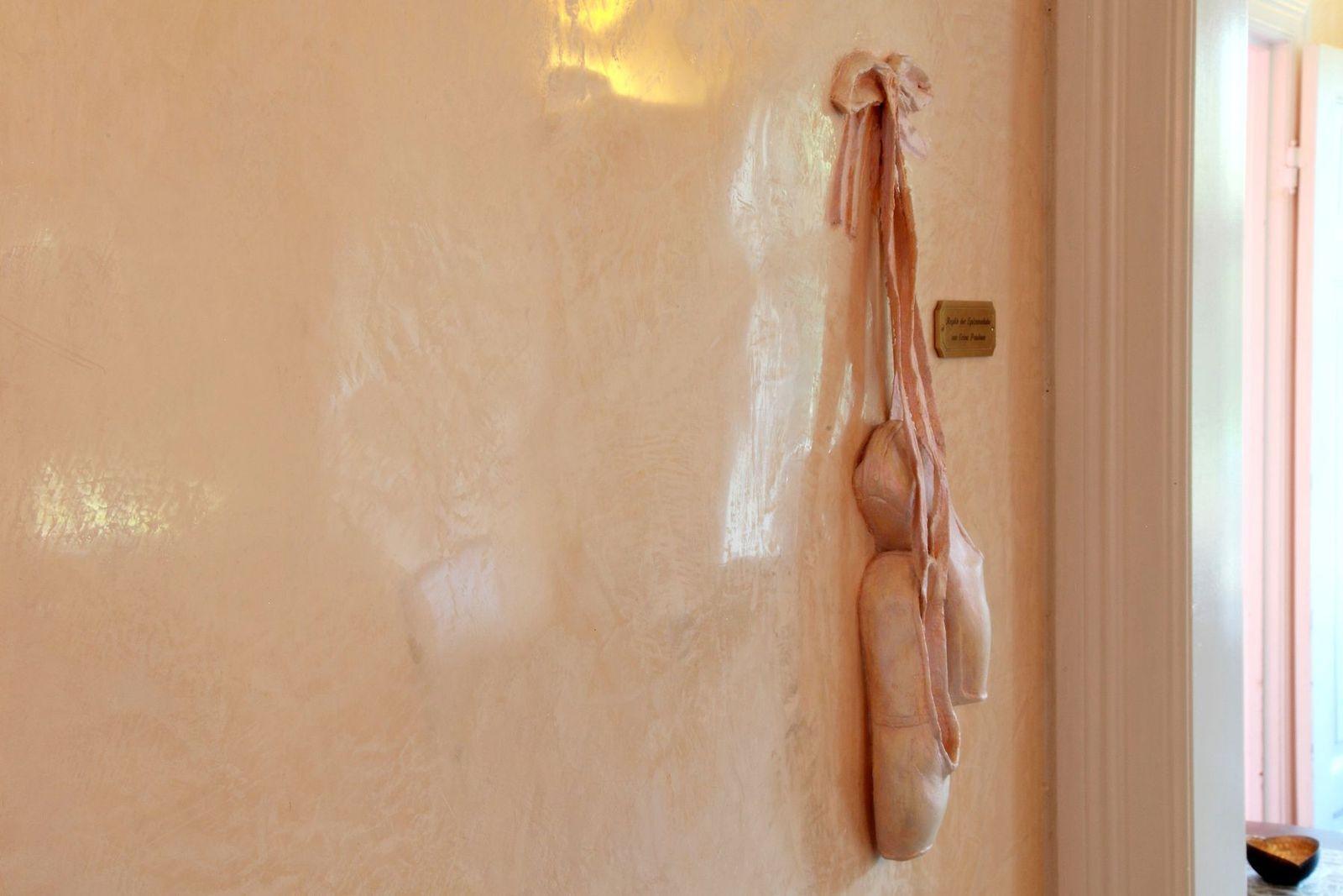 Stucco Lustro - Ballettschuhen - Skulptur