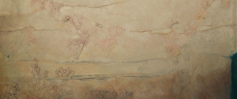 Wandrelief - Unterwasserwelt - Wandmalerei