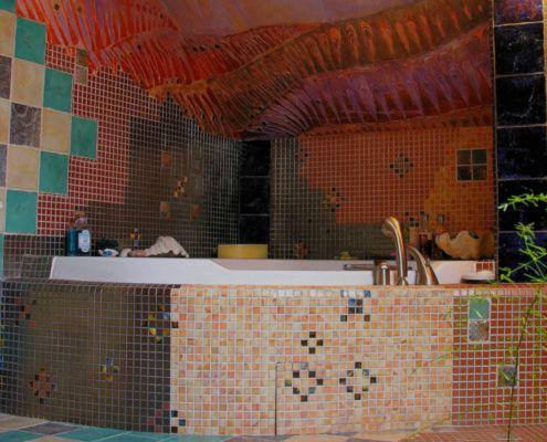 Kunstvoll - Bad Mosaik - Wandstuck