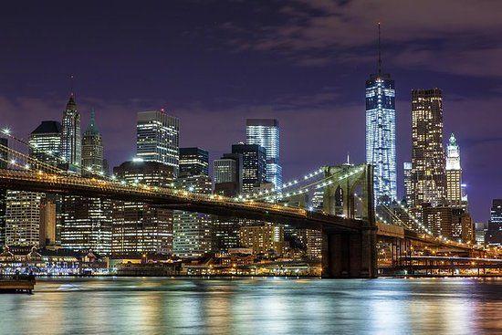 NY-Skyline/At night
